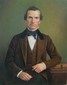 Oliver-Cowdery painting by Ken Corbett