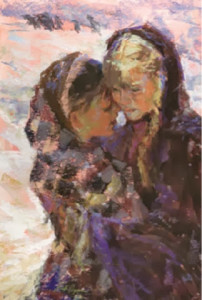 Sarah and Mary by Julie Rogers